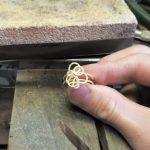 Der Ring ist fertig und kann poliert werden.